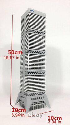 1/150 N Échelle Architecture Moderne D'information Commerciale Kits De Modèles De Bricolage