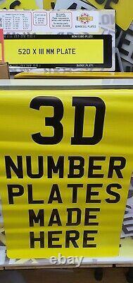 3d / 4d Number Plate Business Grand Kit De Démarrage