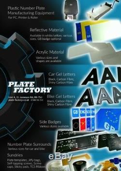 4d 3d Gel Upgrade Numéro Lettres Plaques Digits Gros Trousse Des Vrac Trade Business