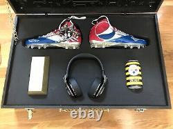 Antonio Brown Business Is Boomin Custom Promo Pepsi Kit NFL Football Steelers
