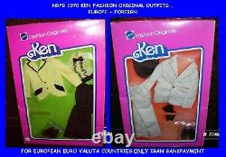 Barbie 1976-77 Htf Ken Fashion Originals Outfit 7246,9596, Europe, Onf