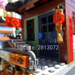 Blocs De Construction Kit City Sets 06083 Ninjago City Docks Harbor Modèle Jouet Pour Enfant