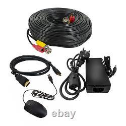 Cctv 4k Hd 1080p 5mp Night Vision Dvr Extérieur Home Business Kit Système De Sécurité