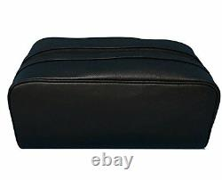 Coach Leather Travel Kit Toiletry Shave Bag T.n.-o. 175 $ Noir F58542