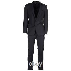 Dolce&gabbana Anzug Herren G16zmt Fu2nf B3681 Blu Frack Costume Fumer