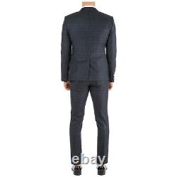 Emporio Armani Anzug Herren 41v18e41123918 Blu Frack Tenue Fumant Einreiher