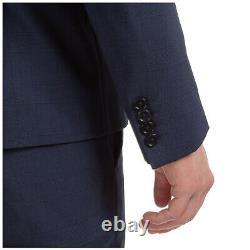 Emporio Armani Anzug Herren 51vf1i51569921 Blu Frack Outfit Smoking Einreiher