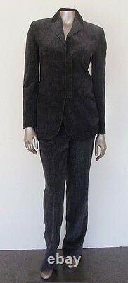 Emporio Armaninwt 950italycareervelour $ Pantalons / Blazer Costume Outfitsmall (4-6)
