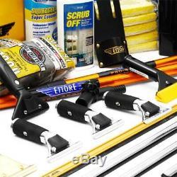 Ettore Super Business Kit De Nettoyage Lavage De Vitres Kit Raclette Livraison Gratuite