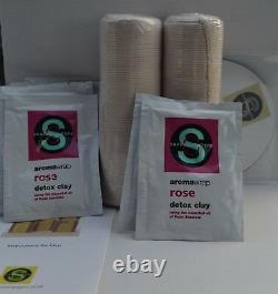 Forme Changeurs De Luxe Enveloppez Clay Body Kit Résultats Perdez Pouces Salon À La Maison Nouveau