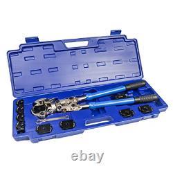 Iwiss Icrimp Plumbing Pressing Tool Kit Fonctionne Pour Zoomlock Réfrigérant Et CVC