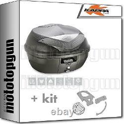 Kappa Maleta K355nt + Kit Abat Monolock Piaggio Mp3 Business 500 2012 12 2013 13