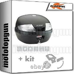 Kappa Maleta K35nt + Kit Abat Monolock Piaggio Mp3 Business 300 2014 14