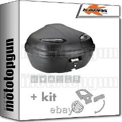 Kappa Maleta K47nt + Kit Abat Monolock Piaggio Mp3 Business 300 2012 12 2013 13