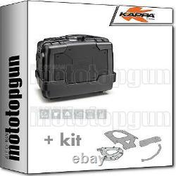 Kappa Maleta Kgr46n + Kit Abat Monokey Piaggio Mp3 Business 300 2014 14