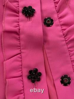 Kate Spade Boutons Bijou Rose 2 Pièces Veste De Costume De Tenue Et Jupe Us Taille 8
