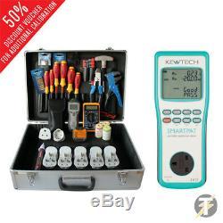 Kewtech Smartpat À Piles Pat Tester Avec Business Kit Pbk101 Kit5b