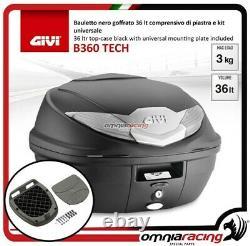 Kit Bauletto Givi Valigia B360nt+piastra Piaggio Mp3 Business 500 20122013