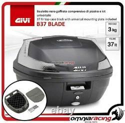 Kit Bauletto Givi Valigia B37nt+piastra Piaggio Mp3 Business 500 20122013