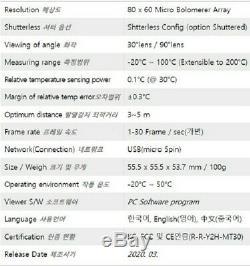 Kit Caméra De Surveillance Thermique Commerciale (pour Les Restaurants Et Les Entreprises)