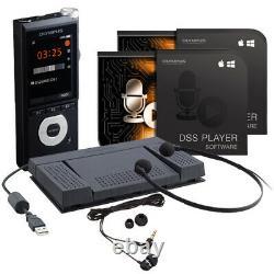 Kit D'enregistrement Pour Petites Entreprises Olympus (ds-2600, As-2400, Tp8)