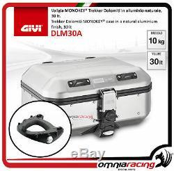 Kit Givi Top Case Dlm30a + Plaque Piaggio Mp3 500 Sport À Savoir / 20.142.017 D'affaires