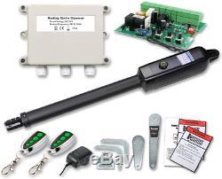 Kit Ouvreur De Porte Automatique A8 Heavy Duty Pour Occupation Simple Portails Battants 850lbs Porte Moteur