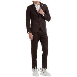 Lardini Anzug Herren Easy Wear Im006av Imewl55723 700 Marrone Frack Outfit