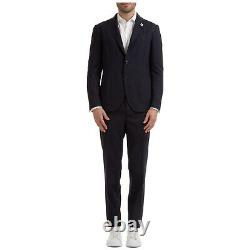 Lardini Anzug Herren Easy Wear Im029av Imew55703 850 Blu Frack Tenue De Fumer