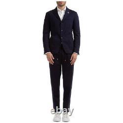 Lardini Anzug Herren Easy Wear Im043av49 Imew55714 850 Blu Frack Tenue De Fumer