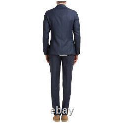 Lardini Anzug Herren Facile À Porter El058a Elew56701 830 Blu Frack Costume Fumer