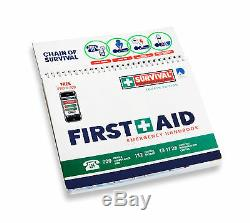 Les Petites Entreprises De Premiers Soins En Milieu De Travail Bundle First Aid Kit Plus + Véhicule Kit
