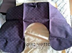 Louis Vuitton Traveler Kit Monogramme Cou Sommeil Masque De Cas Authentique LV Nouveau