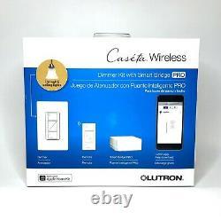Lutron Caseta Wireless Dimmer Kit Avec Smart Bridge Pro Ships Gratuit
