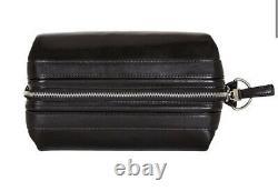 Nouveau Bosca Old Leather 10 Zipper Utilikit Toiletry Travel Dopp Kit Bag
