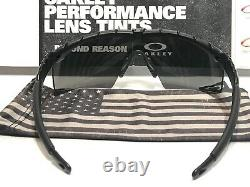 Oakley Si M Frame 2.0 Noir Mat Gris Frapper Avec USA Sac + Anti Fog Kit + Sangle