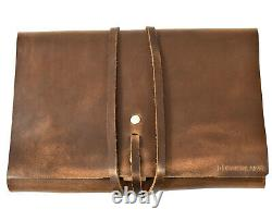 Oneblade X Koch Leather Co. Kit De Lavage En Cuir Véritable Dopp