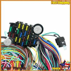 Pour 1937-1940 Chevy Business Coupe 21 Circuit Wiring Harness Wire Kit Chevrolet