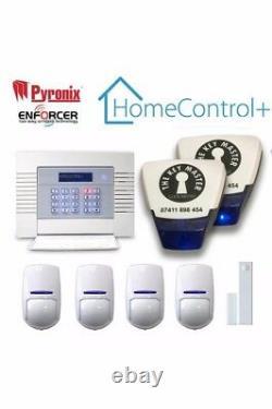 Pyronix Enforcer Digi-wifi Kit Wireless Alarm Systems Home Business Uk Vendeur