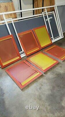 Riley Hopkins / Ryonet 4 Station 4 Color Business Starter Kit! 12k Valeur Nouvelle