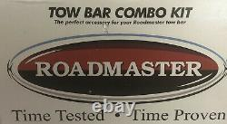 Roadmaster Sterling All-terrain Tow Bar Combo Kit-rare-ships Même Journée D'affaires
