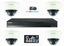 Samsung 2mp Hd 4 Channel 4 Caméra Cctv Home Business Kit Sécurité Système 1to Hdd