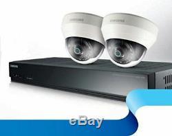 Samsung 4 Canaux 2/4 Caméra Home Business In / Outdoor Poe Sécurité Cctv Kit 1tb