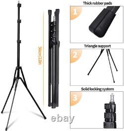 Samtian Ring Light Kit 20/50.8cm Outer 60w Réglable 3200-5500k Couleur Led Anneau