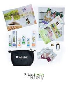 Swiss Just USA Adhésion Wellness Essentia Business Premier Kit Anglais-espagnol