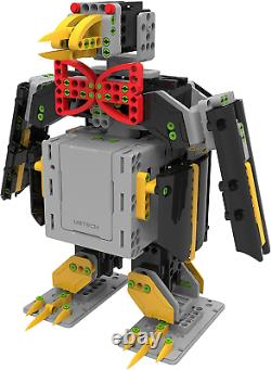Ubtech Jimu Explorer, Interactive 6-en-1 Robot Building & Coding Kit, App Stem