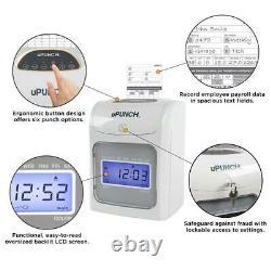 Upunch Small Business Autoalign Calcul Du Temps D'horloge Start-up Kit (hn4540)