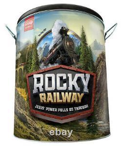 Vacation Bible School (vbs 2020) Rocky Railway Ultimate Starter Kit (nouveau)