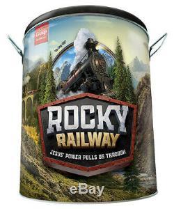 Vacation Bible School (vbs 2020) Rocky Railway Ultime Kit De Démarrage (nouveau)