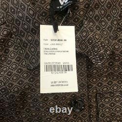 W Par Worth Pantalon Costume Blazer 2 Pièces Tenue Vintage Femmes Taille 8 Java Roast Nouveau